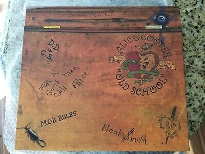 Alice Cooper OLD SCHOOL 1964 - 1974  VERY RARE! numbered box set ORIGINAL Vinyl