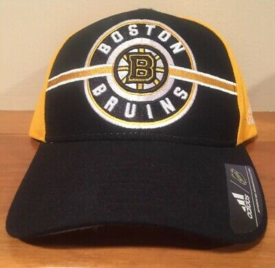 new concept 08593 90689 Boston Bruins NHL Adidas Circle Logo Hat Cap Adjustable Strap