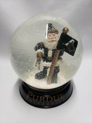 """Purdue University 7 1//2"""" Tall Santa  Figurine  Collectible New The Memory Co"""