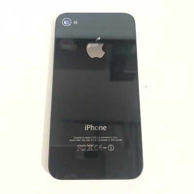 Battery Back Door Housing Glass Cover Replacement Part for iPhone 4S 4 CDMA BLK