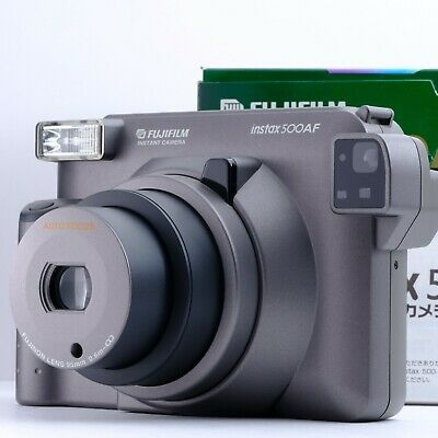 """""""Near Mint"""" Fujifilm Instax 500AF Instant Camera Shipping from Japan"""