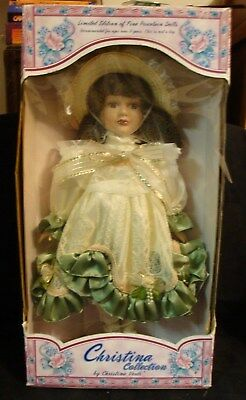 "Christina Collection 18"" Limited Edition Christina Verdi Porcelain Doll 1998"