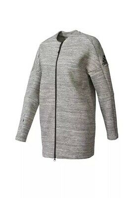 fast delivery outlet on sale large discount ADIDAS WOMENS JACKET ZNE Road Trip Gray/Black Jacket SZ XS ...