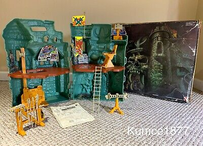 MOTU Masters of the Universe Castle Grayskull Vintage He-Man, Complete MIB, Box