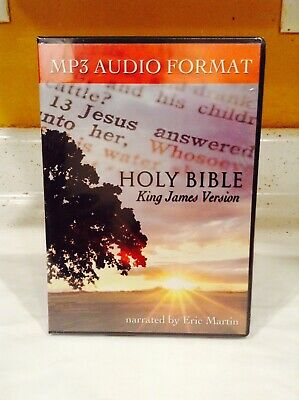 KING JAMES VERSION Complete Holy Bible Audio Set Eric Martin