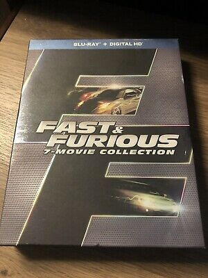 Fast & Furious (7- movie collection) Blue-Ray