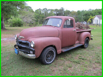 1954 Chevrolet 3100  1954 CHEVY 3100 RAT ROD SALVAGE PICKUP DRIVES GREAT NO RESERVE