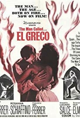 "16mm Feature ""EL GRECO"" (1966)   *NOT ON DVD*   Mel Frerrer Ennio Morricone"