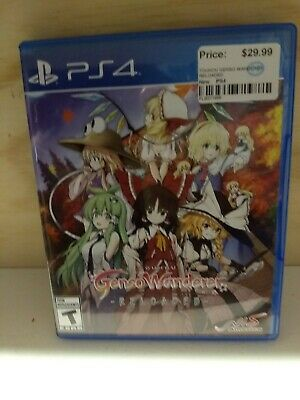 Touhou Genso Wanderer Reloaded (Sony PlayStation 4) PS4