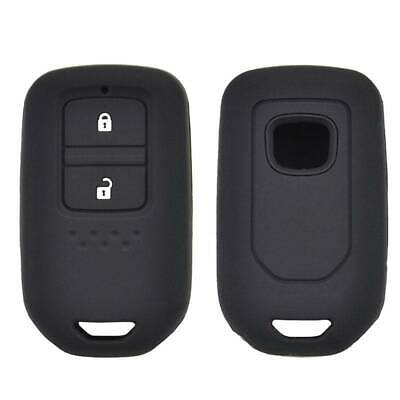 Silicone Key  Remote Case For Honda Fit HR-V Jazz City Civic Accord Fob Cover