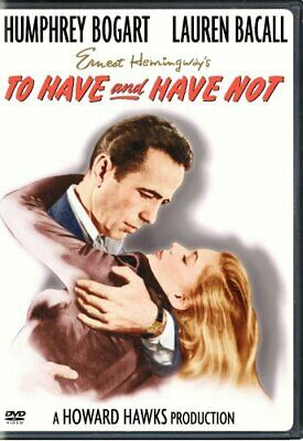 TO HAVE AND HAVE NOT New Sealed DVD Humphrey Bogart