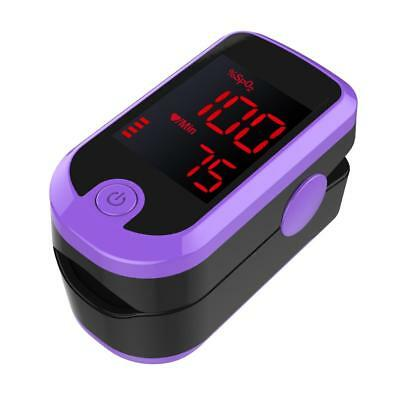 Finger Pulse Oximeter Heart Beat Rate Blood Oxygen Rate Min Saturation Monitor