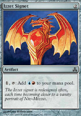 NM MINT 4X IZZET CHRONARCH GUILDPACT COMMON MAGIC THE GATHERING PLAYSET