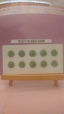 Scott # 5198 - Global Forever Rate-Green Succulent - Sheet of (10) $1.15 Stamps