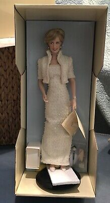 Franklin Mint Princess Diana In Elvis Dress Beautiful Doll