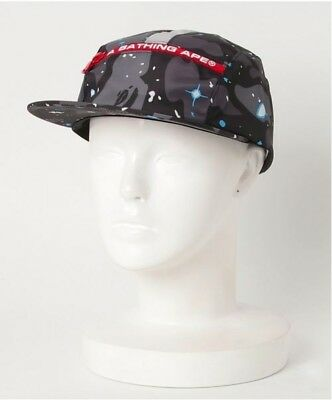 a6aa2291d910e A BATHING APE Space Camo Jet Cap Hat Glow In The Dark Print BAPE NIGO Japan