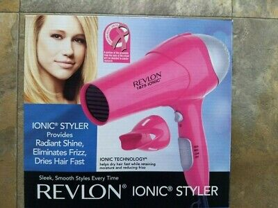 REVLON ESSENTIALS FRIZZ Control Styler Hair Dryer 1875 Watts