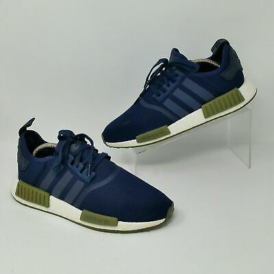 1d1775c9a0e9d adidas NMD R1 (Men s Size 11) Athletic Training Sneaker Shoes Navy Blue  Olive