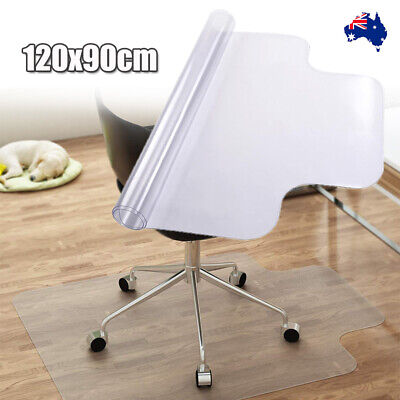 1200x900mm Carpet Hard Floor Office Computer Work Chair Mat Clear Protect PAD AU