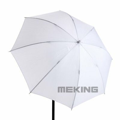 2Pcs 33in Photograph Video Studio Flash Light Translucent Soft White Umbrella