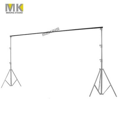 3m/10Ft Adjustable Background Support Stand Photo Backdrop Crossbar Photography
