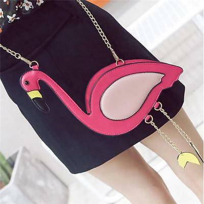 Shaped Womens Girls Chain Cross Body Shoulder Bag Pures Clutch Party B