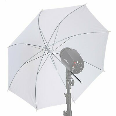 MK 33in Photograph Video Studio Flash Light Translucent Soft White Umbrella