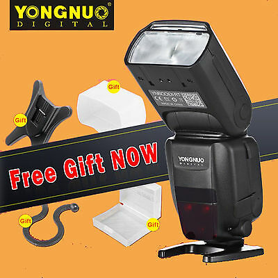 Yongnuo YN600EX-RT II Wireless Flash Speedlite TTL Master Fr Canon Camera & gif