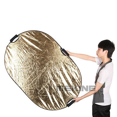 """5in1 60x90cm 24x36"""" Light Mulit Collapsible Portable Photo Reflector"""
