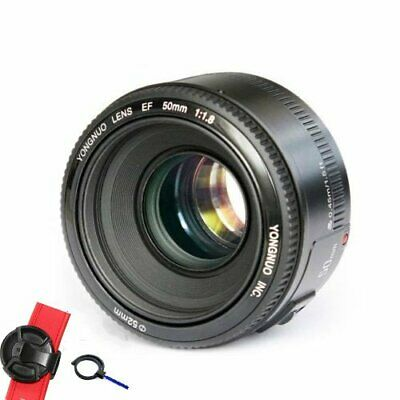 Yongnuo EF YN50mm F/1.8 Standard Prime Lens for Canon EF EOS Rebel Camera AF MF