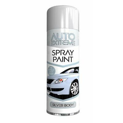 1 x Silver Spray Paint Aerosol Auto Car Van Bike Restore Metal  250ml