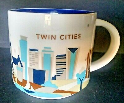 Starbucks Twin Cities You Are Here Collection  2013 14Oz Mug