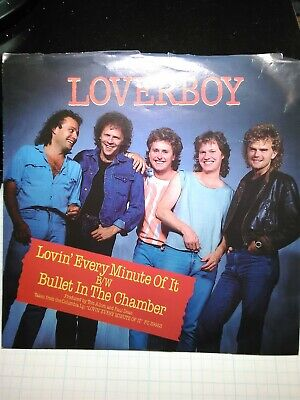 Authentic stage OTTO #1 LOVERBOY 1985 Every Minute Concert Tour Backstage Pass!