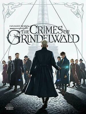 """""""Fantastic Beasts"""": The Crimes Of Grindelwald """" Dvd Free Shipping 2019-AU STOCK"""