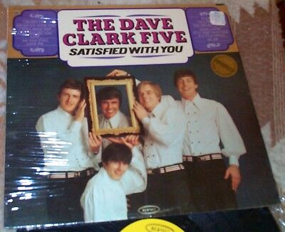 SEALED PROMO Satisfied With You THE DAVE CLARK FIVE Orig EPIC MONO Look You Leap