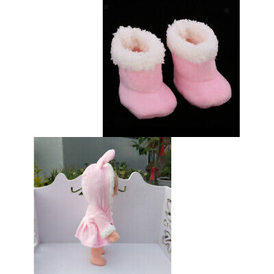 Lovely Plush Boots Shoes for Mellchan Baby Doll Clothing Accessories #c