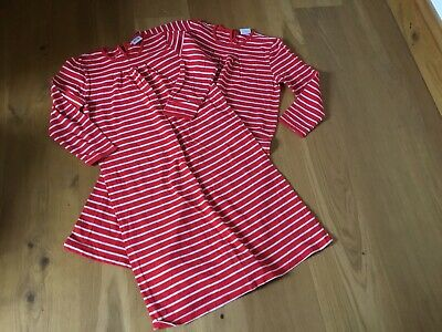 Feather&black X2  Girls Striped Nightdresses Age  11-12 Years