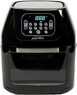 6-Quart Power Air Fryer Oven Plus 7-in-1 Cooking Features with Dehydrator