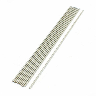 10 Pcs Stainless Steel 200mmx2mm Transmission Round Rod for RC Airplane