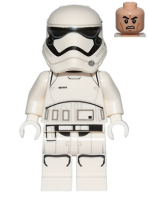 Lego Star Wars First Order Stormtrooper ( Minifigur From 75190-75189-75103 sw066