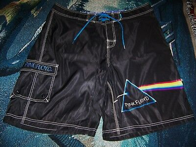 085b538c17 NEW Vintage PINK FLOYD DARK SIDE OF THE MOON Dragonfly Swim Surf Board  Shorts 40