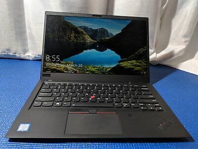 LENOVO THINKPAD X1 Carbon WQHD 6th Gen i7 8650U, 16GB Ram, 512GB SSD  WARRANTY