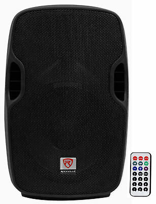 "Rockville BPA10 10"" Professional Powered Active 500w DJ PA Speaker w Bluetooth"
