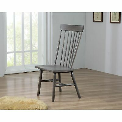 Amazing Acme Ragenardus Dining Arm Chair In Gray And Antique White Bralicious Painted Fabric Chair Ideas Braliciousco