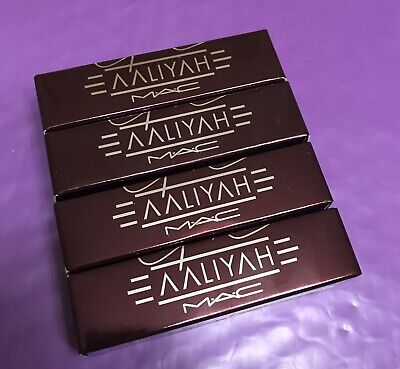 MAC AALIYAH COLLECTION lipstick Hot Like Fire red - $18 00   PicClick