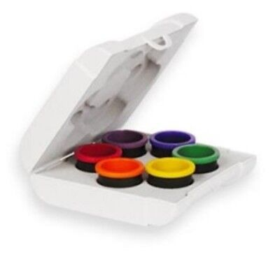 Bioptron 6 colour therapy set for Compact 3 and Medall lamps color lenses
