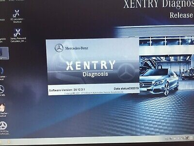 Mercedes 03/19 Diagnostic Software Xentry,DAS, and WIS. Dealer level. Latest