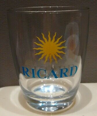 Ancien verre Ricard collection type Whisky soleil