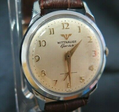 Super Quality Wittnauer By Longines Gents Manual Wind Dress Watch Sub Seconds
