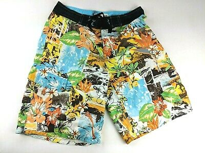 d6ca176cf5 OP Surf Board Shorts Bright Bold Hawaii Hawaiian Swim Trunks Aloha 30